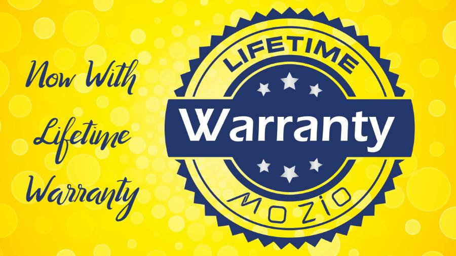 Mozio Life Time Warranty